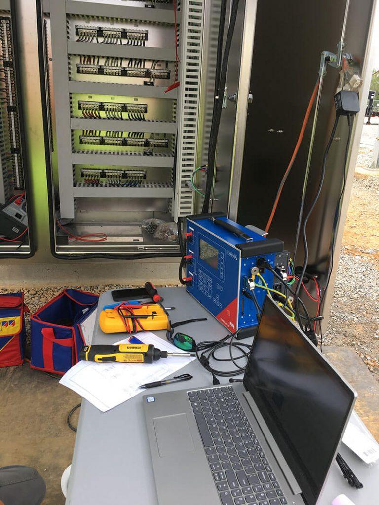 Electrical diagnostics transformer equipment